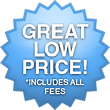 Great Low Price - Includes All Fees!