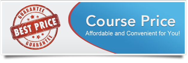 Florida traffic school course price banner